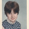 Lou Anne Stewart (daughter of Don & Edith) grade school photo