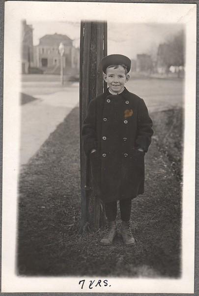Don Stewart, 1913 or 1914