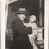 Don Stewart and baby (Linda?)