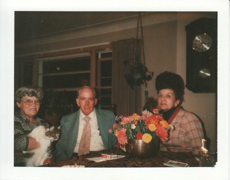 Doris Stewart, Don and Edith Stewart, 1979