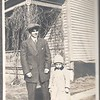 Don Stewart and his uncle Earl Littlefield, 1911 or 1912