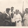 Dick and Don Stewart with mother and grandmothers, 1920s