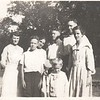 Fred and Lu Stewart and boys, Littlefield relatives