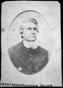 Blish-Elisha Clauzel; b. 4/18/1816 (or 1817) in Colchester, CT; d. 9/16/1872 in Cleveland, OH of a boiler explosion