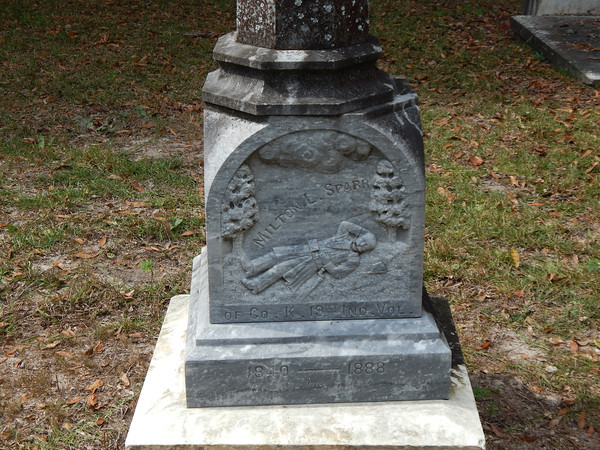 Scenes from the historic Swift Creek Cemetery in White Springs
