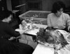 Naomi Rothschild, Michael Rothschild, Robin Scheinblum<br /> <br /> Thanksgiving, 1962<br /> Home of Carl and Naomi Rothschild<br /> 1 Brownes Terrace, Englewood, NJ