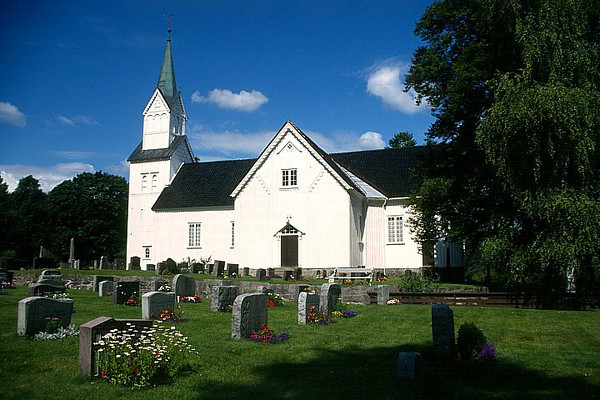 Vegarshei Kirke, Aust Agder, Norway