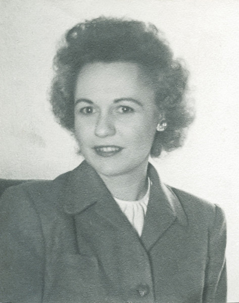 Vivian Nolin, about 1938