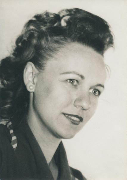 Vivian Nolin, about 1939