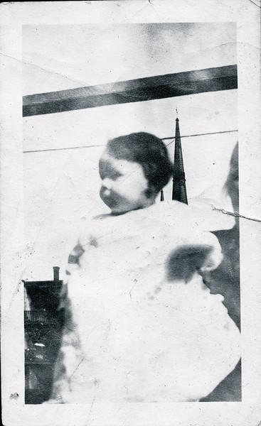 Vivian Nolin, age 9 months, 1918