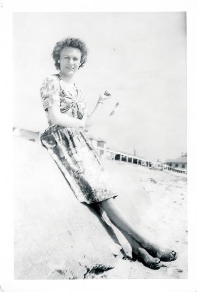 Vivian Nolin, Hampton Beach, New Hampshire, 1938