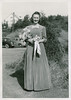 Vivian Nolin, as bridesmaid in Erline Nolin-Leonard Blanchette wedding, 1942
