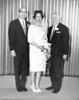Wedding of Lester Rosen and Muriel Pinkert, 1965<br /> <br /> Lester Rosen, Muriel Pinkert, Louis Rosen