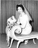 Wedding of Lester Rosen and Muriel Pinkert, 1965<br /> <br /> Muriel Pinkert