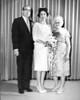 Wedding of Lester Rosen and Muriel Pinkert, 1965<br /> <br /> Lester Rosen, Muriel Pinkert, Celia Pinkert