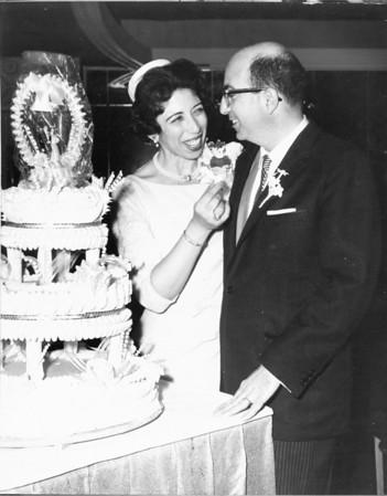 Wedding Album:<br>Lester Rosen and Muriel Pinkert, 1965