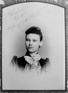 Mabel Brumbaugh 2nd wife of Clarence Benjamin Werts