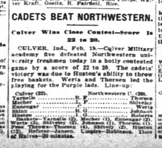CBW The Inter Ocean Sun Feb, 1910