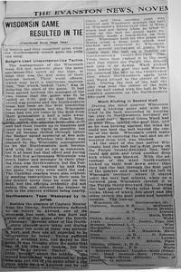 Evanston News Nov. 1910