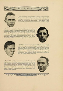 Northwestern Football Program 1912