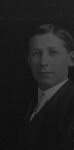 Clarence Beryl Werts teenager