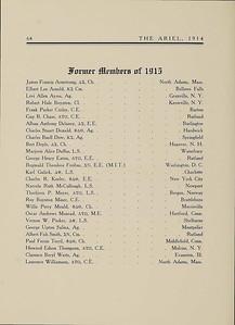 University of Vermont Yearbook Ariel 1914