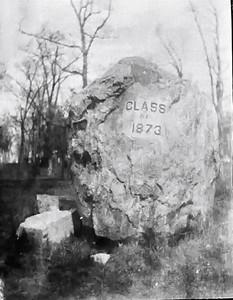 Northwestern Gift 1873 taken 1913