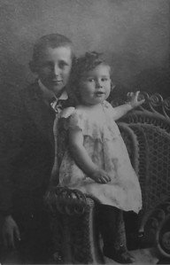 Clarence Beryl Werts and Fred Laird 1900