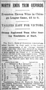 Chicago Daily Tribune Fri Nov, 1912
