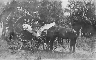Clarence and Nellie 1909
