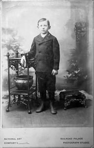 Clarence B. Werts circa 1897.
