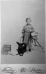Clarence B. Werts 2 years old. Feb. 1893.