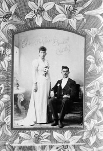Ed and Aplha (Werts) Burkett