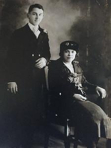 John Baltazar Mikulski and Antonina Karfarski Wedding 1883 Koscielec, Inowoclaw, Poland