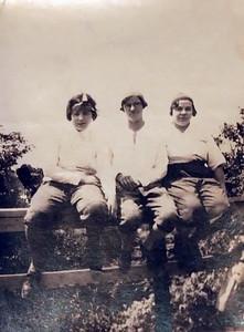 McKulski girls. Catherine (Werts), Francis (Steffens), Anna (McKeiver)