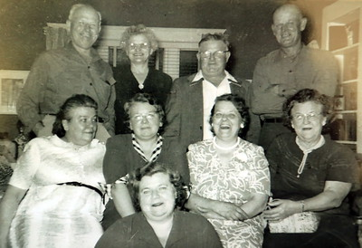 McKulski Family June 28, 1963 Mike,Martha,Stanley,George,Anna,Catherine,Mary,Frances,Angie