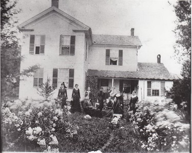 Sloan Farm with Family. Date unknown.