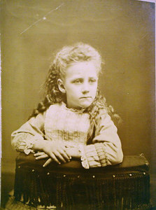 Nellie Werts 5 years old 1875