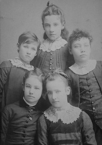 Young; Sloan Sisters Top Josephine Left Francis Lower Mercy Right Martha Nellie