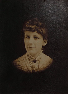 Nellie Sloan taken April 7, 1889 (19 years old).