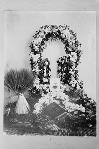 Frances Betterton Sloane Funeral. April 23, 1897.