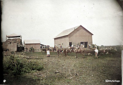 Sloan Farm-Colorized