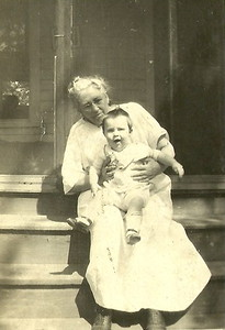 Frances Sloan with George Fred Laird