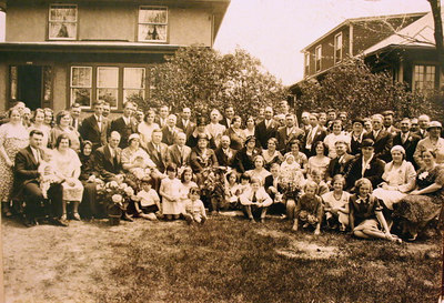 McKulski Reunion circa 1933