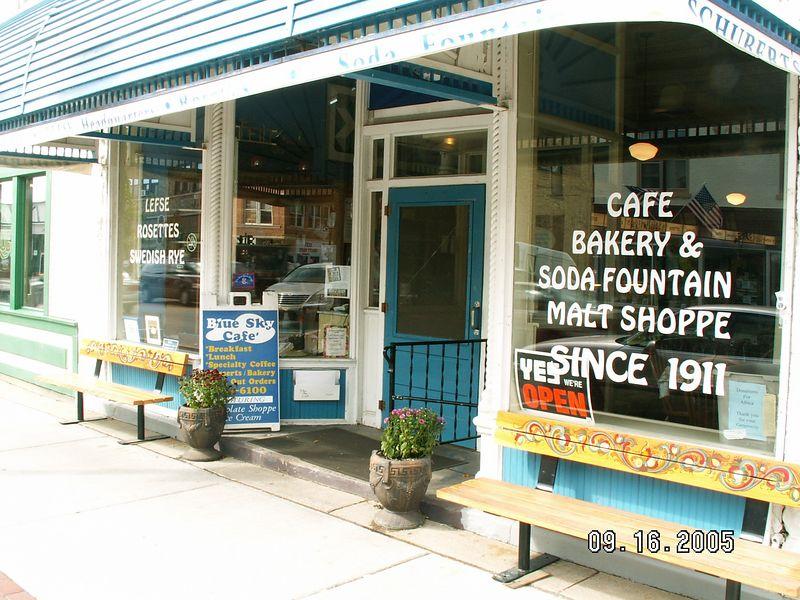 Oldest restaurant in Mt. Horeb -- since 1911  (now it's Schuberts, originally was Olsens)