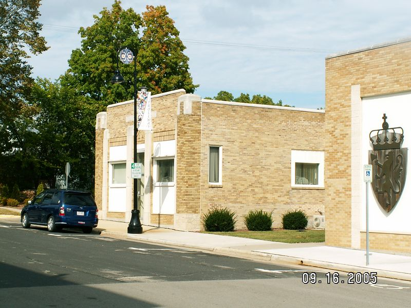 The old Mt. Horeb Telephone Company -- original office (Grandpa Dahlen was Manager before expansion to new bldg on the right, and his dad was the original founder)