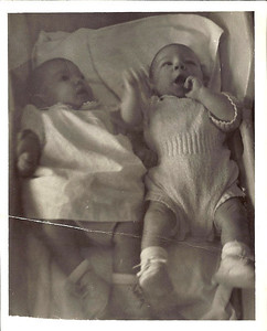 Helen Carl and Donald Woods, 2 months
