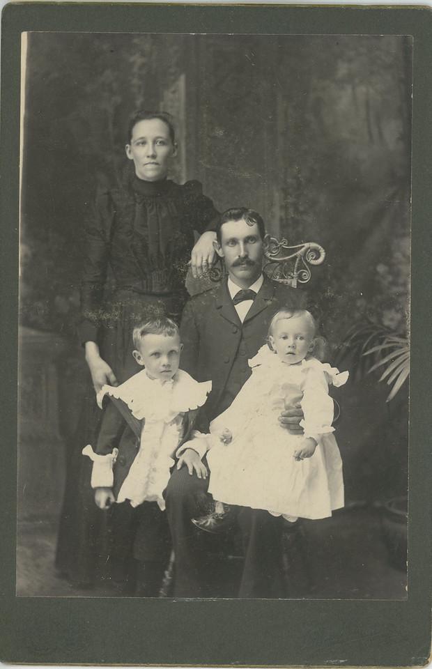 Nels & Anna Johnson and family