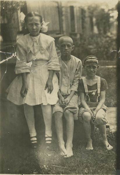 Esther Johnson and brothers