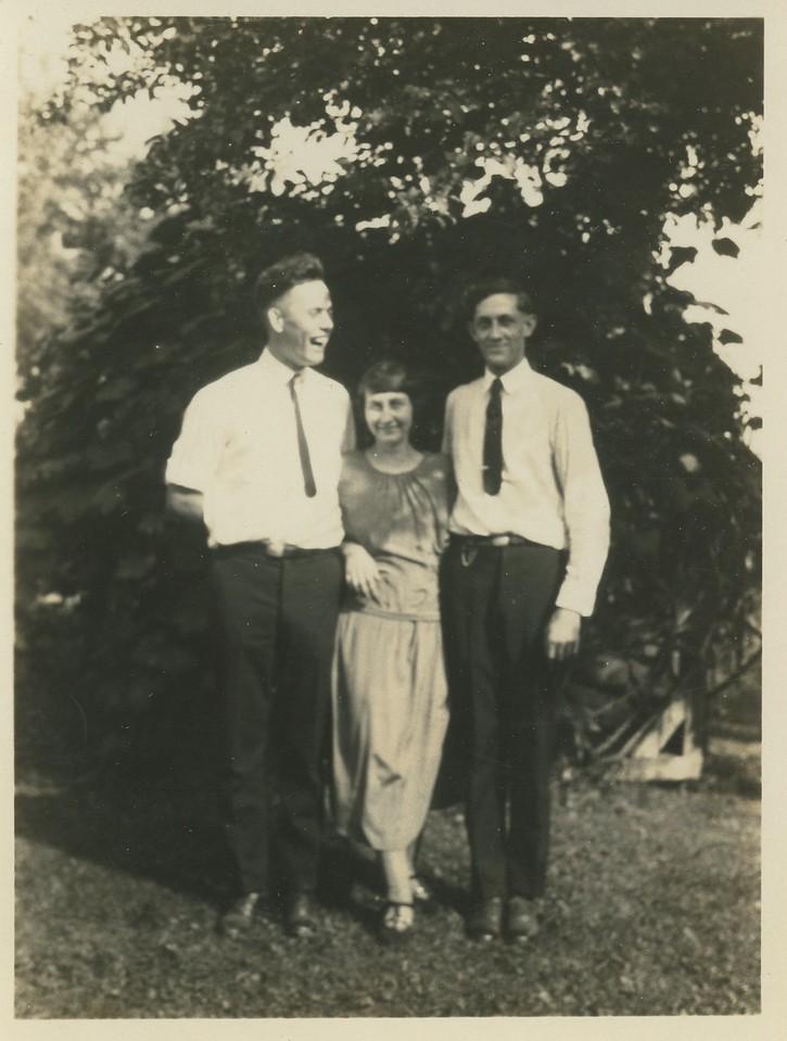 Raymond Yard, Esther Johnson, Fredolph Johnson